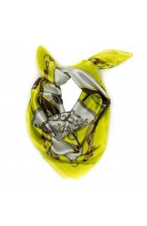 Esarfa, Batic, de dama, cu imprimeu roial, 60x60 cm - ES174