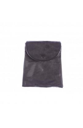Geanta dama, Neagra, piele ecologica, 23 x 20 cm, BTC390