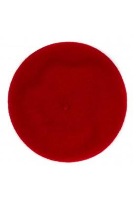 Bereta de dama, Rosu, 100% lana - BSC203