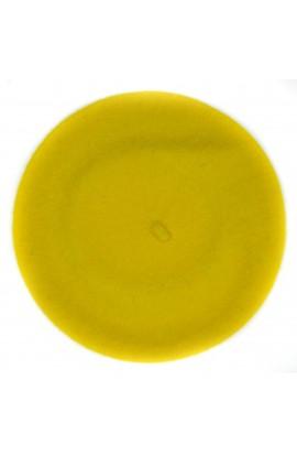 Bereta de dama, Galben, Buticcochet, 100% lana - BSC267