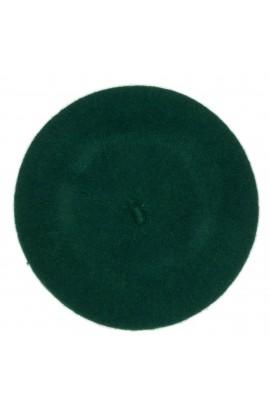 Bereta de dama, Verde, 100% lana - BSC270