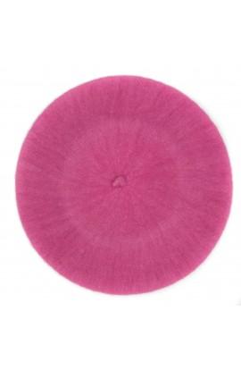 Bereta de dama, Roz, 100% lana - BSC274