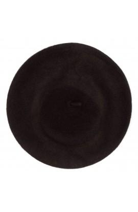 Bereta de dama, Maro inchis, 100% lana - BSC281