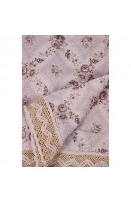 Fata de masa, Imprimeu floral, 85x85 cm, Buticcochet, BTC255