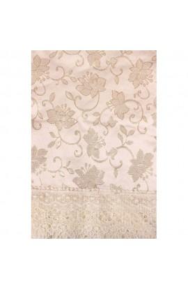 Fata de masa, Imprimeu floral, 85x85 cm, Buticcochet, BTC272