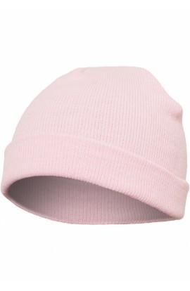 Caciula, Roz pal, din 100% hipoalergenic acrilic, Marime: Universala, Flexfit, btcu1335