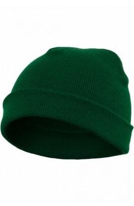 Caciula, Verde, din 100% hipoalergenic acrilic, Marime: Universala, Flexfit, btcu1337