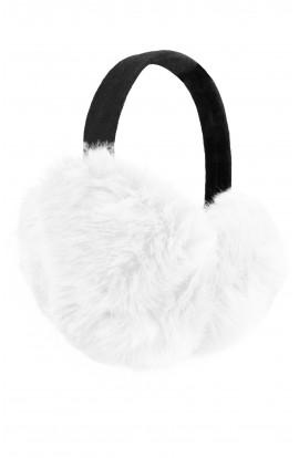 Casti protectie urechi, pentru iarna XL, Alb
