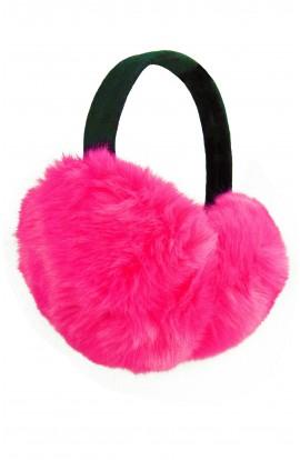 Casti protectie urechi, pentru iarna XL, Fuchsia