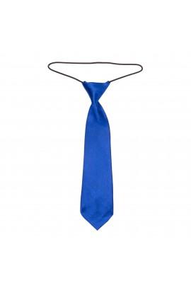 Cravata pentru copii, Buticcochet, Albastru, din material sintetic, 28 cm - CRV211