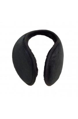 Casti protectie urechi, copii, pentru iarna, Negru