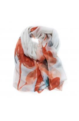 Esarfa multicolora din vascoza, de dama, 48 x 180 cm - ES27