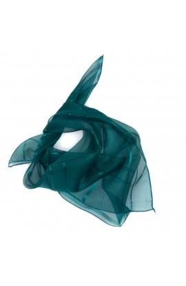 Esarfa, Batic, de dama, Verde Turcoaz, 50x50 cm - ES488