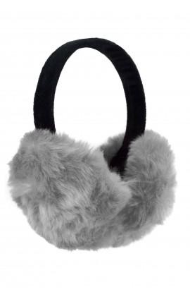 Casti protectie urechi, pentru iarna, de dama, Gri