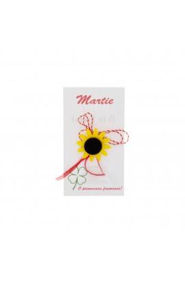 Martisor Brosa, Buticcochet, Floarea soarelui, din fetru - MR494