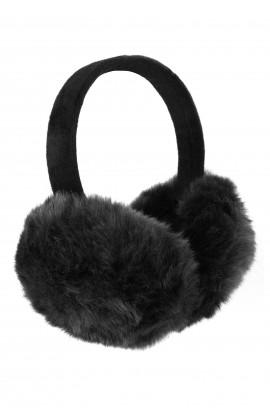 Casti protectie urechi, pentru iarna, de dama, Negre