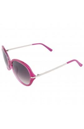 Ochelari de soare, dama, Roz cu pietricele, lentila gri degrade - OCS235