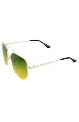 Ochelari de soare, dama, lentila verde degrade, protectie UV 400 - OCS237