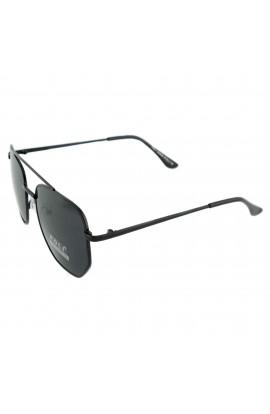Ochelari de soare, dama, Negru, lentila gri, protectie UV 400 - OCS238
