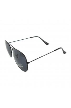 Ochelari de soare, unisex, Negru, Aviator, Protectie UV400 - OCS240