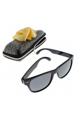 Ochelari de soare, copii, Negrii, lentila gri polarizata - OCS267