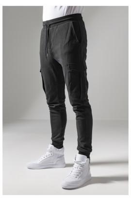 Pantaloni Cargo, Urban Classics, Negru