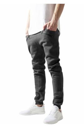 Pantaloni Trening, Urban Classics, Gri carbune