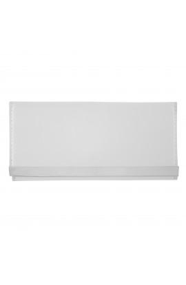 Portofel dama,  slim, alb din piele ecologica 18 x 9 x 1 cm - PR23