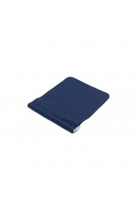 Portofel, Clips pentru bani,  barbatesc, Albastru, din piele naturala, moale - PR366