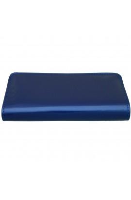 Portofel dama, bleumarin lacuit, 20x10x3 cm - PR70
