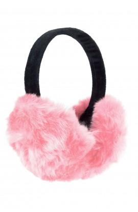 Casti protectie urechi, pentru iarna, de dama, Roz pal
