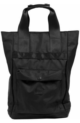 Rucsac, geanta, dama, Piele ecologica, Negru, Urban Classics