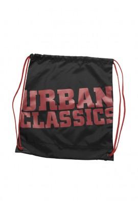 Rucsac, Gym Bag, Negru, 100% Nailon, Urban Classics
