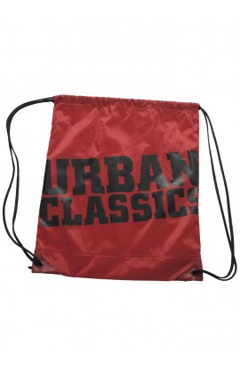 Rucsac, Gym Bag, Rosu, 100% Nailon, Urban Classics, btcu1117