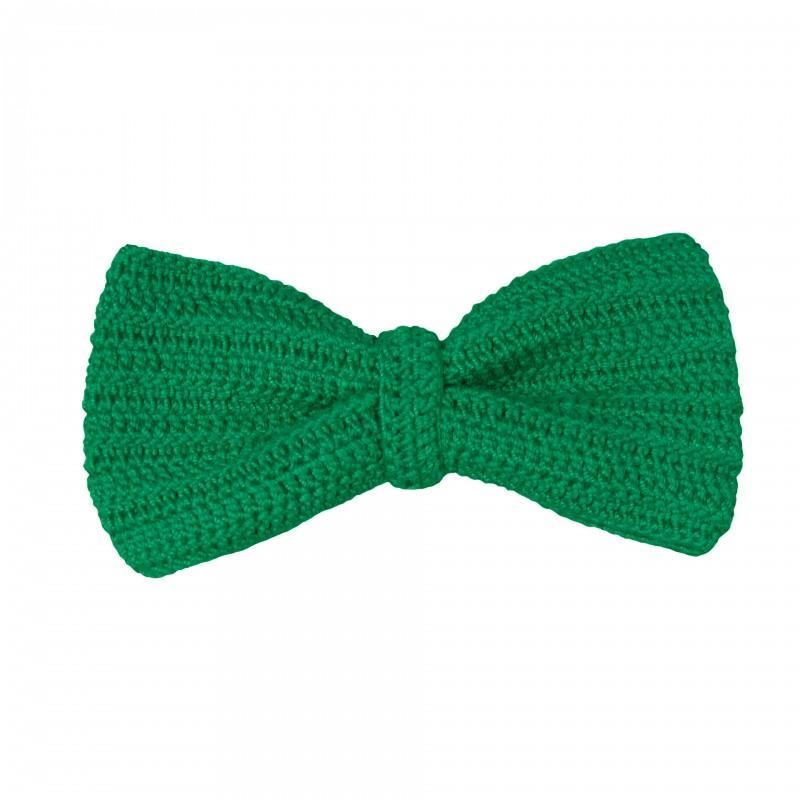 Papion, dama, Buticcochet, crosetat manual, Verde
